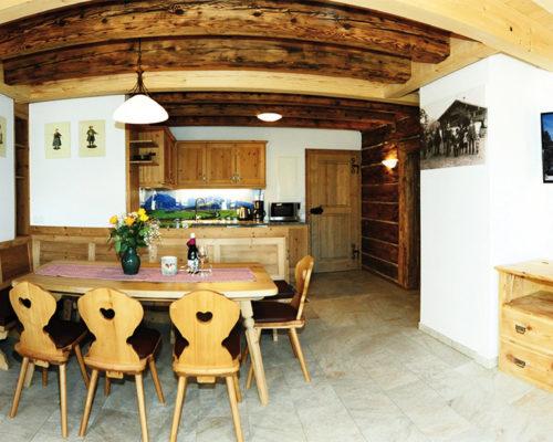 Gestaltung von Küchenrückwand Hoferbichlgut