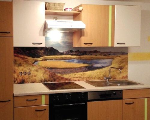 Gestaltung von Küchenrückwand Pesion Hagleitner