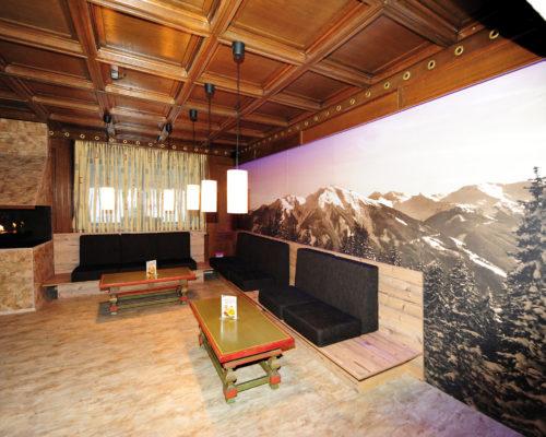 Gestalltung Wände Hotel CLC Alpin Centre