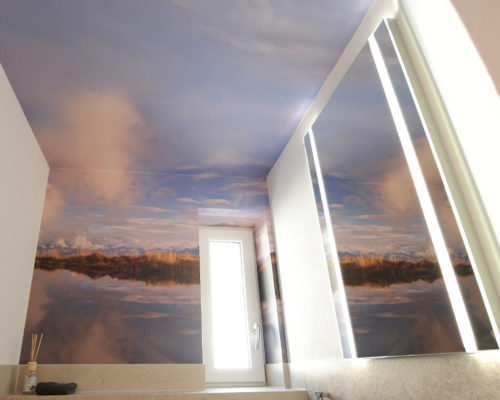 Folierung von Wänden Niedermoser