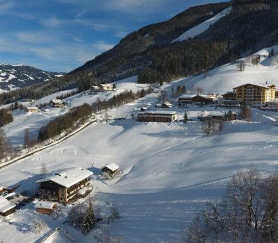 Winteraufnahme Saalbach
