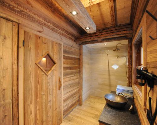 Badezimmer Hotel Unterellmau