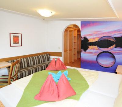 Hotel Unterellmau Zimmer