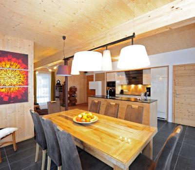 Chalet Wohnzimmer & Küche