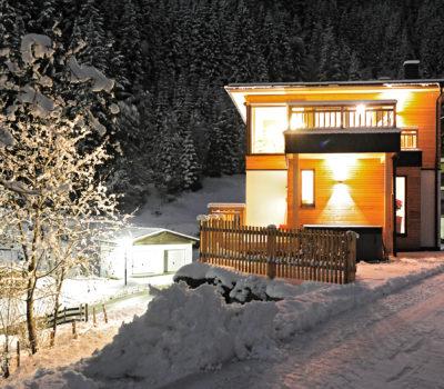 Chalet Glemmtal Winter