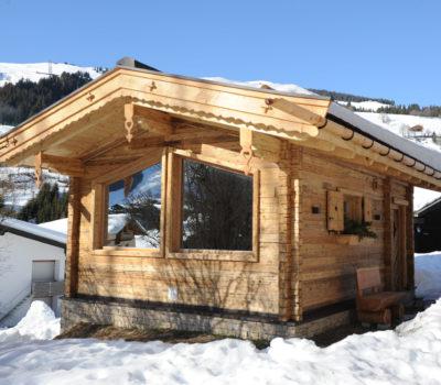Hotel Unterellmau Sauna