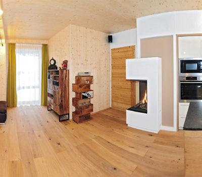Chalet Küche & Wohnzimmer