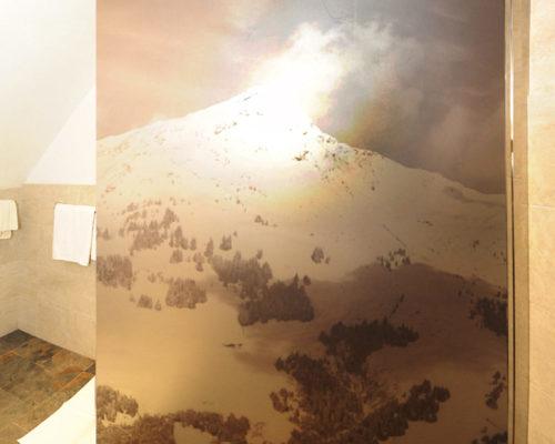 Folierung Duschwände Berghof