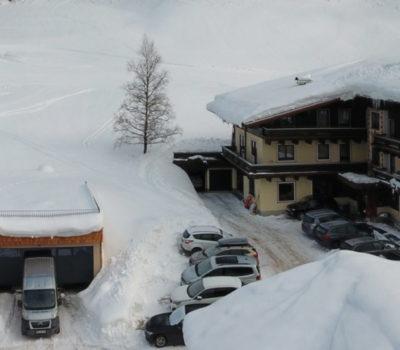 Winteraufnahme Hotel Unterellmau