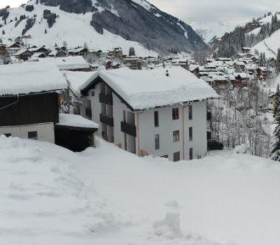 Winteraufnahme Panorama Hotel Unterellmau