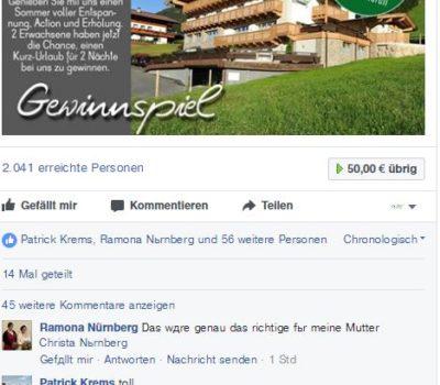Birkenhof Gewinnspiel