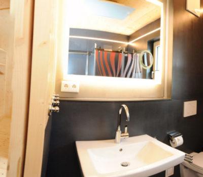Panoramabild Badezimmer
