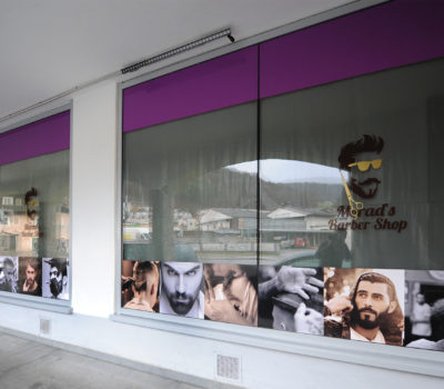 Außengestalltung Barber Shop