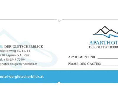 Keycardhülle Gletscherblick