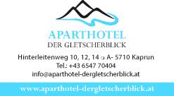 Vistenkarte Aparthotel Gletscherblick