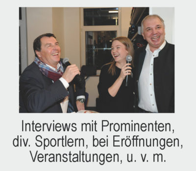 Interview bei Eröffung Sport-4-You