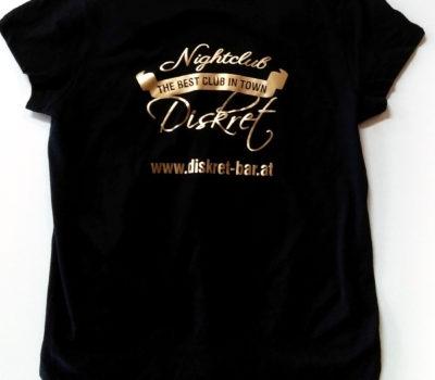T-shirt Diskret Bar