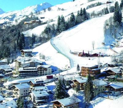 Winteraufnahme Panorma