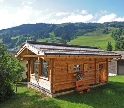 Hotel Unterellmau Fotografie Sauna