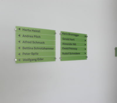 Leitsystem Altmann + Partner