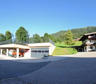 Hotel Unterellmau Fotografie Panoramabild