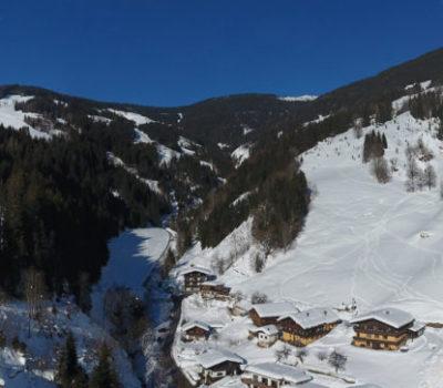 Panorama Winteraufnahme