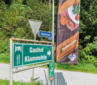 Beachflag Gasthof Klammstein