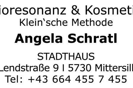 Stempel Bioresonanz & Kosmetik Angela Schratl