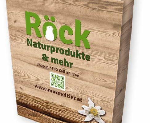 Merchandising Röck Naturprodukte Papiertasche