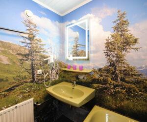 Badezimmer Pension Forsthaus