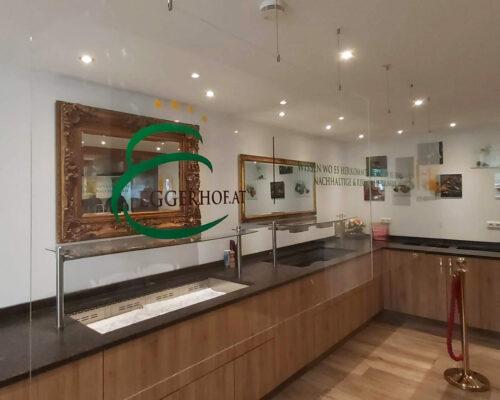 Acrylglasabtrennung Eggerhof