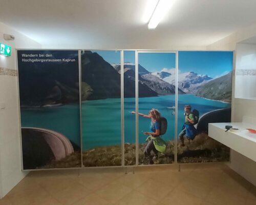 Gestalltung Wände Camping Neunbrunnen
