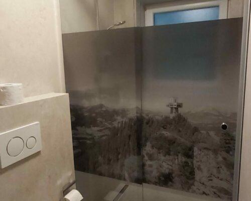 Folierung Duschwände Niedermoser